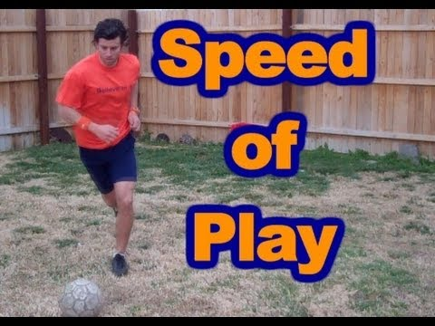 How to Think Faster on the Field - Speed of Play - Online Soccer Academy