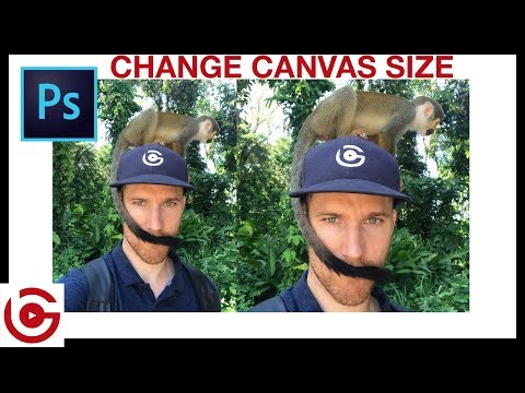 How To Change CANVAS Size In Photoshop
