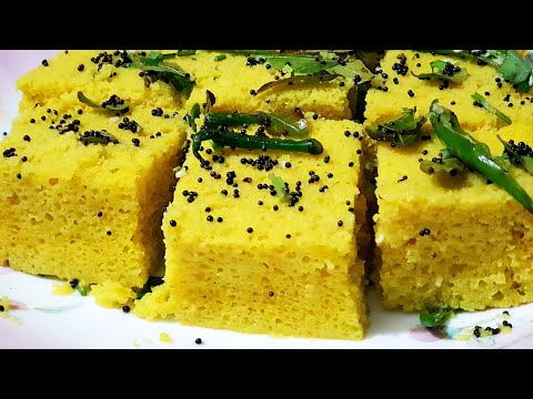 Instant Dhokla at Home | How to make  Dhokla in Microwave |  Cook With Monika