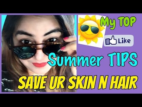Best 5 Summer Skin Care TIPS | Glowing Clear & Flawless Skin | Natural Sun Protection | JSuper Kaur