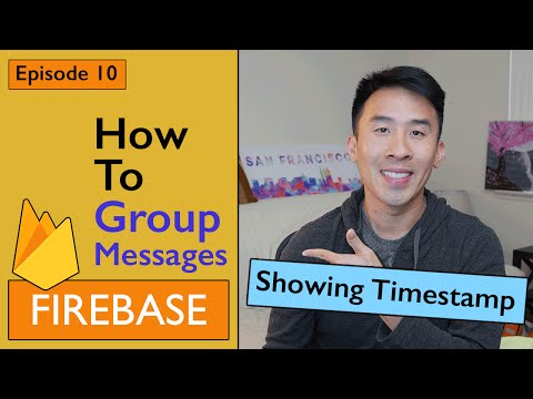 Swift: Firebase 3 - How to Group Messages Per User (Ep 10)