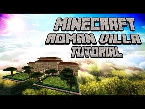 Minecraft Roman Villa Tutorial (Part 1)
