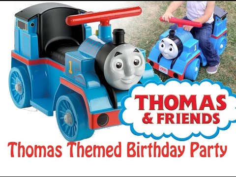 Birthday with Thomas the Train. Thomas & friends.