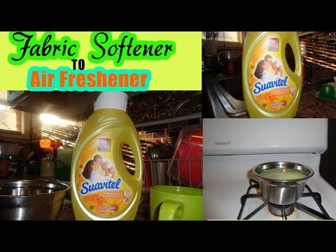 DIY | Making an Air Freshener Using Liquid Fabric Softener