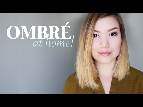 DIY OMBRE / BALAYAGE AT HOME // how-to & demo