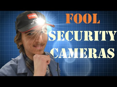 How to Fool IR Security Cameras