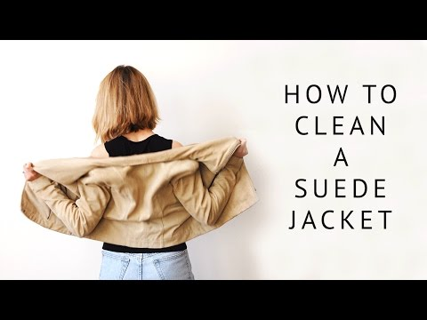 How to Clean a Suede Jacket & Jacket Liner