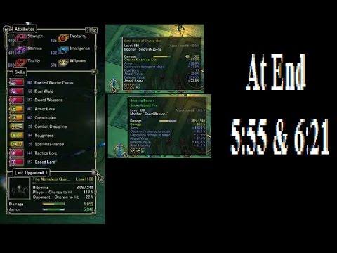 Sacred 2 Seraphim Exalted Warrior Niob lvl120 vs guardians No HAX all farm-avail w guide