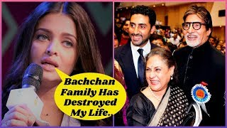 Bachchan Family Has Destroyed Aishwarya Rai