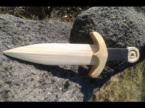 Make a wooden dagger.