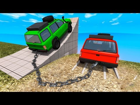 High Speed Jump Crashes BeamNG Drive Compilation #2 (BeamNG Drive Crashes)