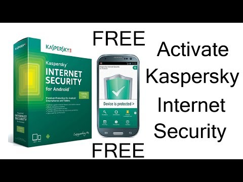 How to Activate Kaspersky Internet Security On Android Phone 2017 (HIndi) 100% Proof