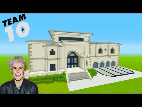 Minecraft Tutorial: How To Make Jake Pauls NEW House