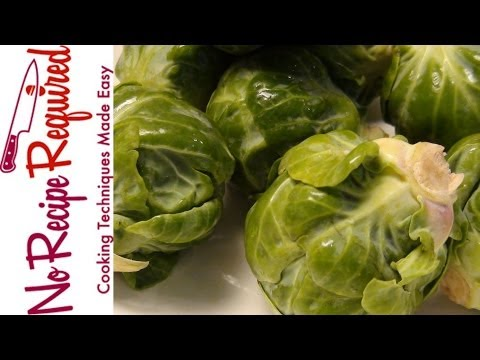 How to Clean Brussel Sprouts - NoRecipeRequired.com