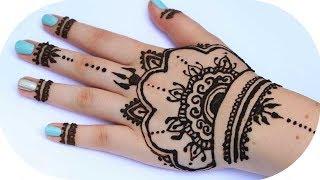 Simple White Henna Design Easy Diy Henna 60