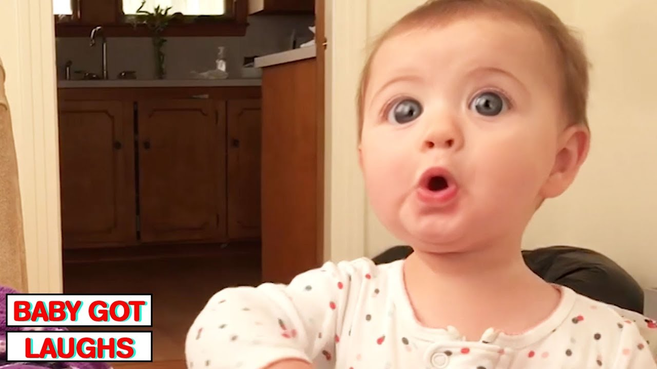 100 Surprised Baby Reactions   Try Not To Laugh Challenge