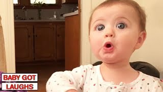 100 Surprised Baby Reactions | Try Not To Laugh Challenge