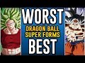 Worst To Best Dragon Ball Super Transformations mp3