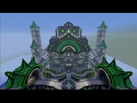 Minecraft PS3 PS4 MIND BLOWING CASTLE with DOWNLOAD LINK