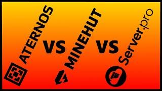 Which is the Best Free Minecraft Server Host? (Server.Pro VS Minehut VS Aternos)