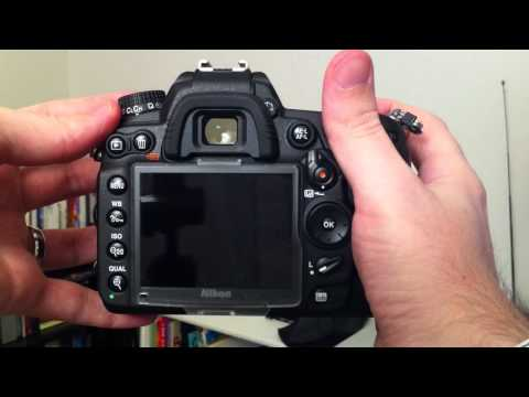 Nikon D7000 Shutter Sounds + Quiet Shutter