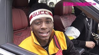 Soulja Boy Speaks On Tekashi 6ix9ine While Buying Out The Gucci Store In His New Bentley Truck