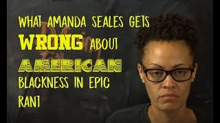 Download Amanda Seales Gets Everything Wrong About American Blacks in Confused and Scattered Rant Video