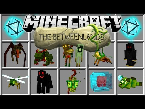 Minecraft BETWEENLANDS MOD | SURVIVE IN A NEW DIMENSION WITH EPIC MINECRAFT BOSSES!!