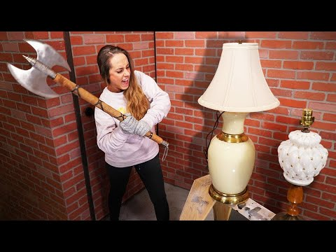 15 Ways to Destroy A Lamp!
