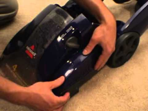 How to change Bissell Proheat Belt