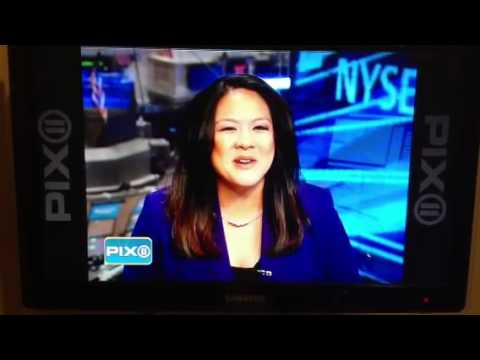 Annalisa Burgos on WPIX 11 for Bloomberg