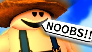 ROBLOX but I make fun of NOOBS for being NOOBS!!!!!!!!!