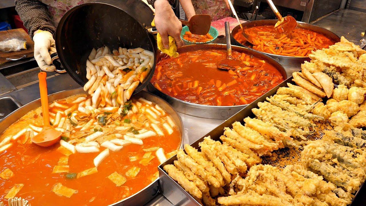 역대급 깔끔한 분식집? 바삭한 튀김, 쌀떡, 밀떡 떡볶이로 대박난 고강수제, 순대, 핫도그 / spicy rice cake Tteokbokki / Korean Street Food