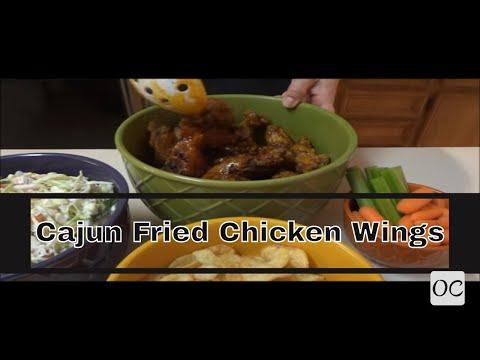 Cajun Fried Chicken Wings