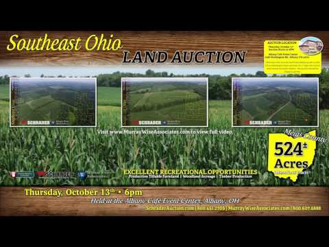Miegs County Ohio Land Auction