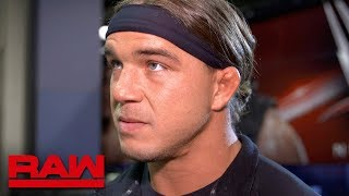 Chad Gable will go solo on Monday Night Raw: Raw Exclusive, April 16, 2018