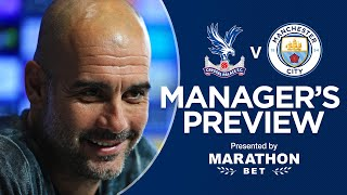 PRESS CONFERENCE | Pep Guardiola previews Crystal Palace v City