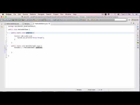 Java 8 Features Part 20 - Method referencing in action