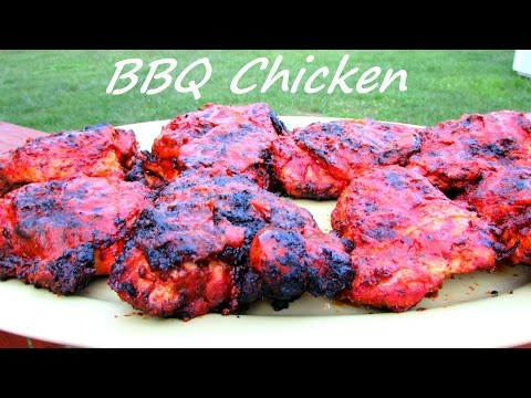 How to Make BBQ Grilled Chicken - Barbecue Chicken & Sauce Recipe