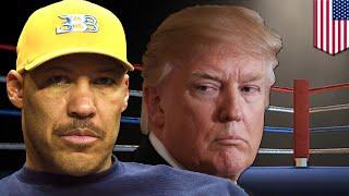 Trump v LaVar Ball: Donald and LaVar throw shade over UCLA China sunglasses soap opera  - TomoNews