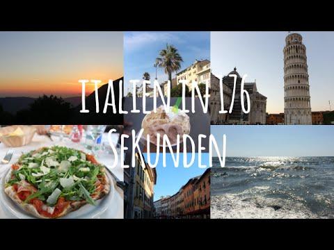 ITALIEN (FLORENZ,PISA,VIAREGGIO,ETC.) IN 176 SEKUNDEN