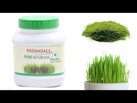 Patanjali wheat grass powder benefits and review