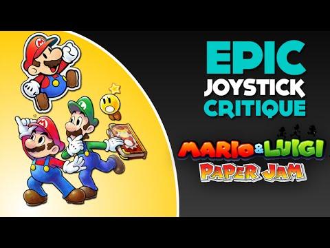 Mario & Luigi Paper Jam - Epic Joystick Critique