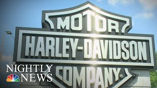 Harley-Davidson Layoffs After Tax Cuts Anger Employees | NBC Nightly News