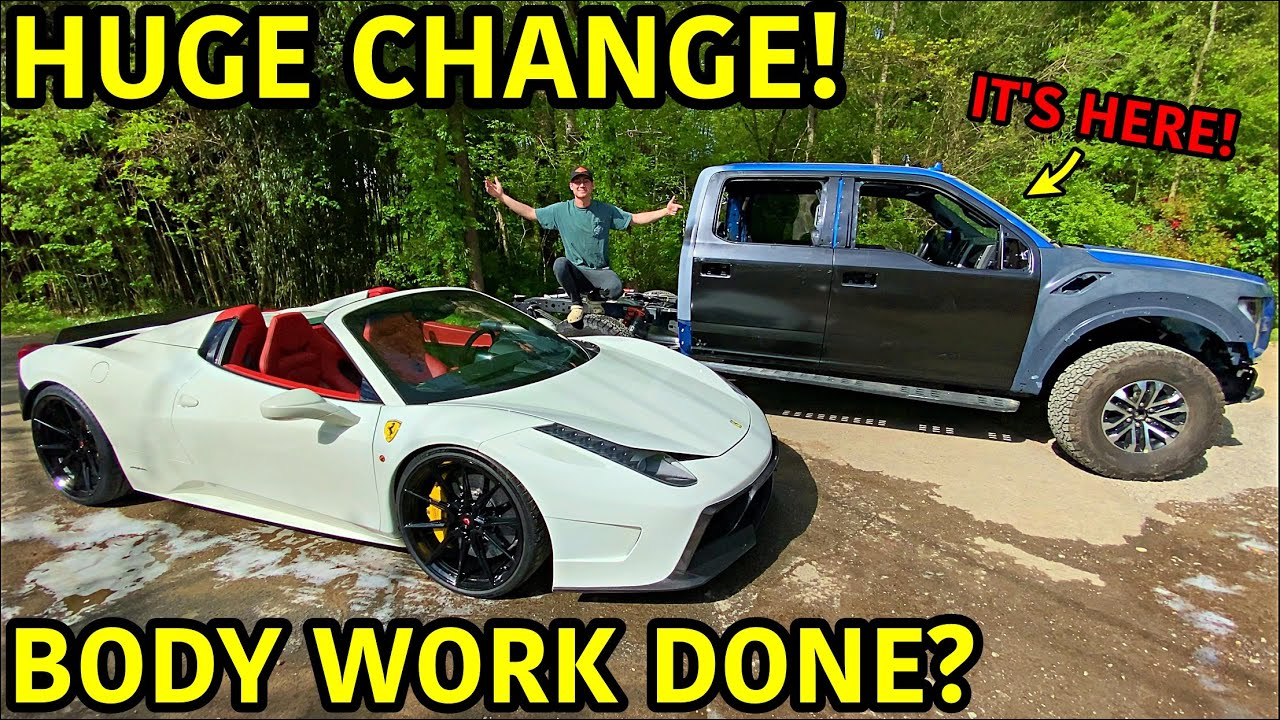 Rebuilding A Wrecked 2019 Ford Raptor Part 7