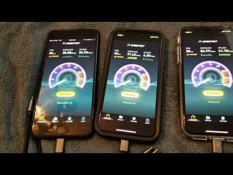 Why I'm going back to Verizon - 3 Carrier Speed Test on iPhone X & 7+