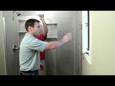 Onyx Shower Installation - Fully Frameless Shower Door