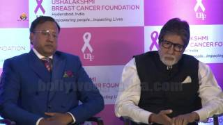 VIDEO: Amitabh Bachchan Launch Of World 1st Mobile App Abc Of Breast Health