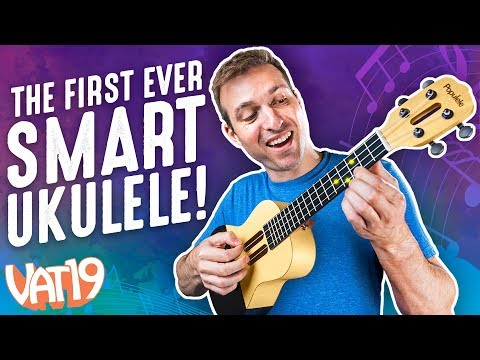 This Ukulele Teaches You How to Play Itself!