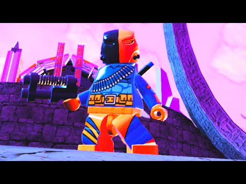 LEGO Batman 3 Beyond Gotham - Unlocking Deathstroke & Special Moves